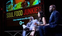 Soul Food Junkies panel at TCA - Courtesy of Rahoul Ghose/PBS