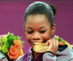 Gabby Douglas Wins Womens All Around at the 2012 Olympic Games