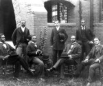 From Howard University's graduating class of 1900, shown here, the school has expanded to its current enrollment of more than 7,000 undergraduates and almost 4,000 graduate students enrolled in medicine, law, dentistry, divinity and other professions. Source: Library of Congress (Image/caption via blackhistory.noaa.gov/)