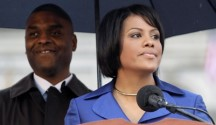 Baltimore Mayor Stephanie Rawlings-Blake, with her husband, Kent Blake. (Image via American Progress)