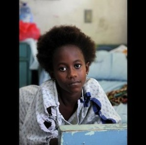 Small Small Thing is about the life and death of Olivia Zinnah, a child victim of rape in Liberia. (Image and Caption via filmmaker Jessica Vale/AJZ